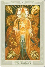 The Hierophant from the Deck of Thoth