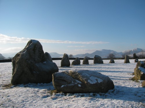 Castlerigg Stone Circle in winter