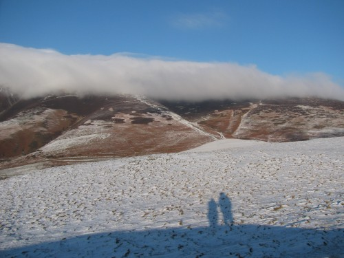 Shadows from the top of Latrigg